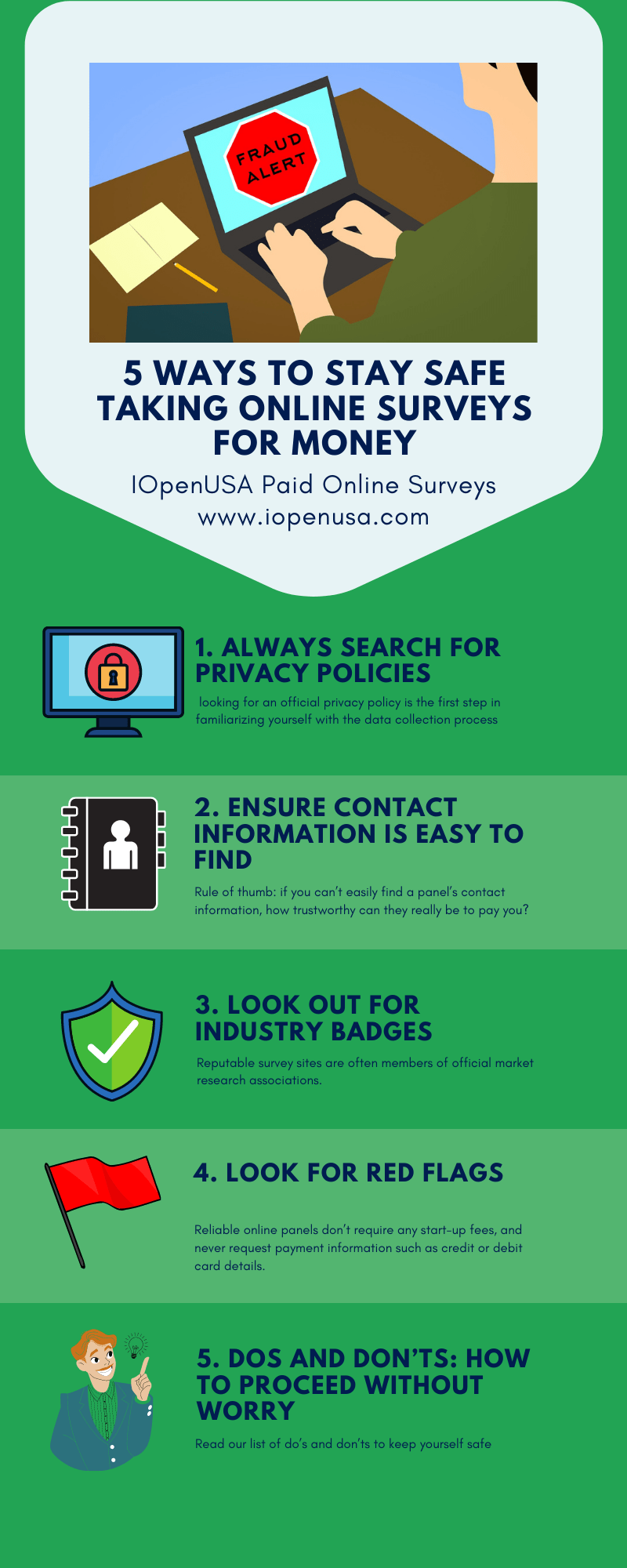 5 ways to avoid scams in paid surveys
