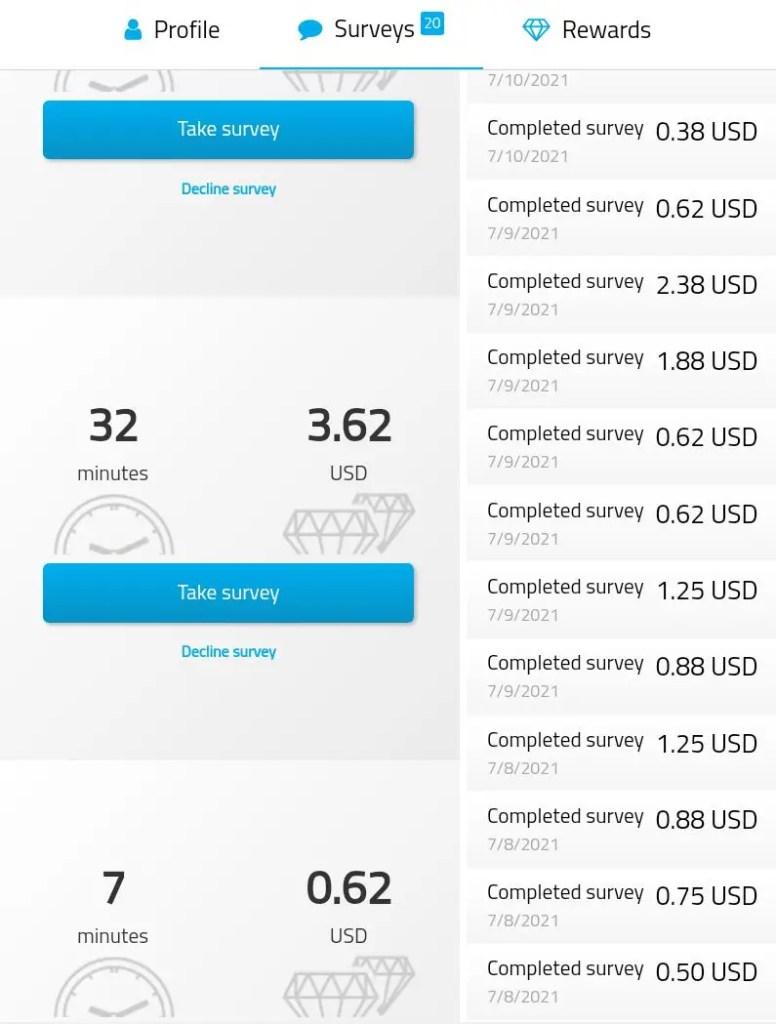iopenusa paid surveys amazon rewards and more