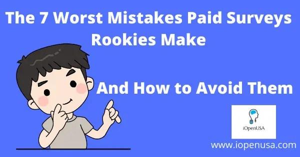 Paid surveys Rookies