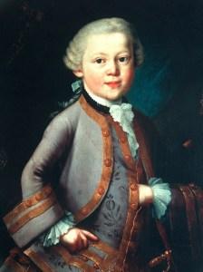 Mozart de niño