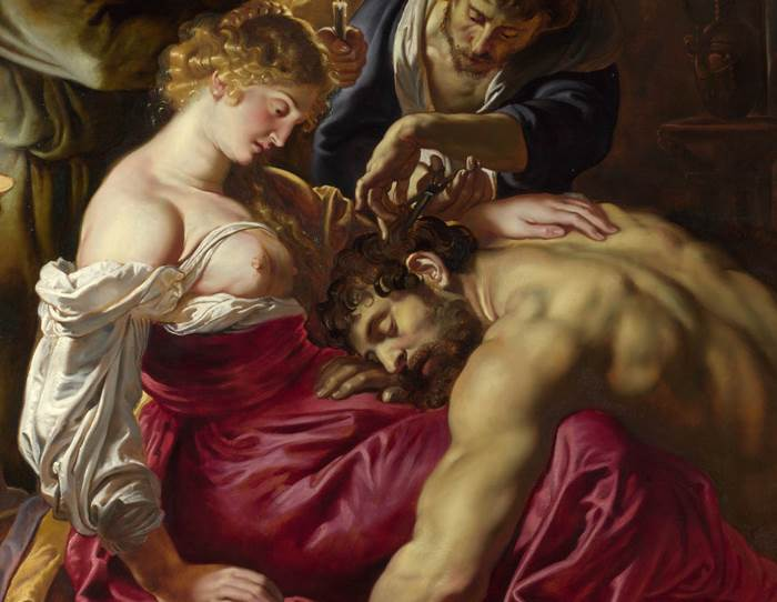 Mon coeur Samson et dalila Saint saens rubens