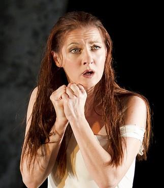 Patrizia Ciofi en el papel de Gilda