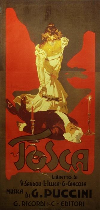 Cartel de Tosca