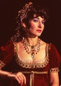 Maria Callas como Floria Tosca