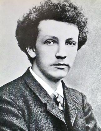 Richard Strauss joven