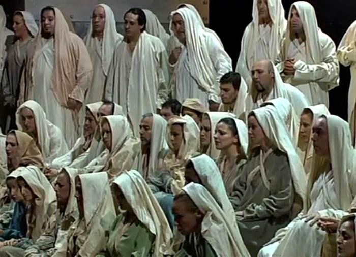 Nabucco Va pensiero coro esclavos hebreos Giuseppe Verdi
