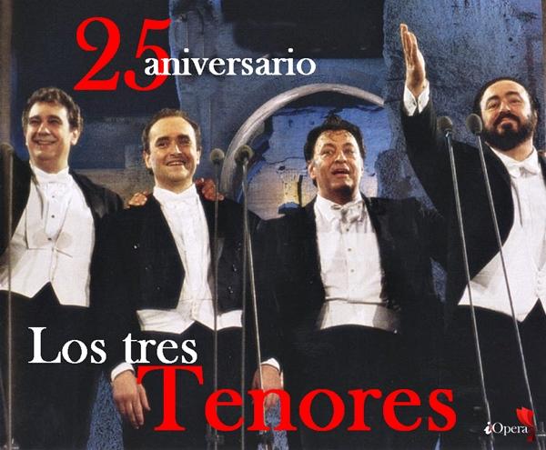 Los tres tenores Domingo Carreras Pavarotti Mehta