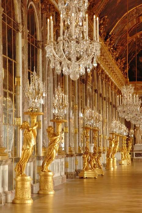Galerie des Glaces en Versailles