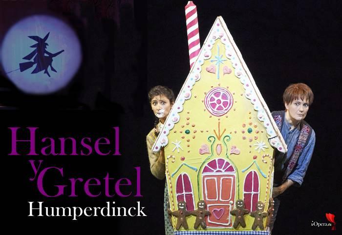 Hansel y Gretel desde Viena ópera de Humperdinck para niños