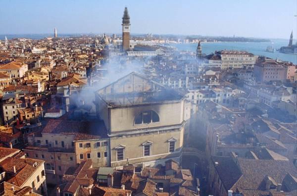 teatro la fenice de venecia incendio de 1996