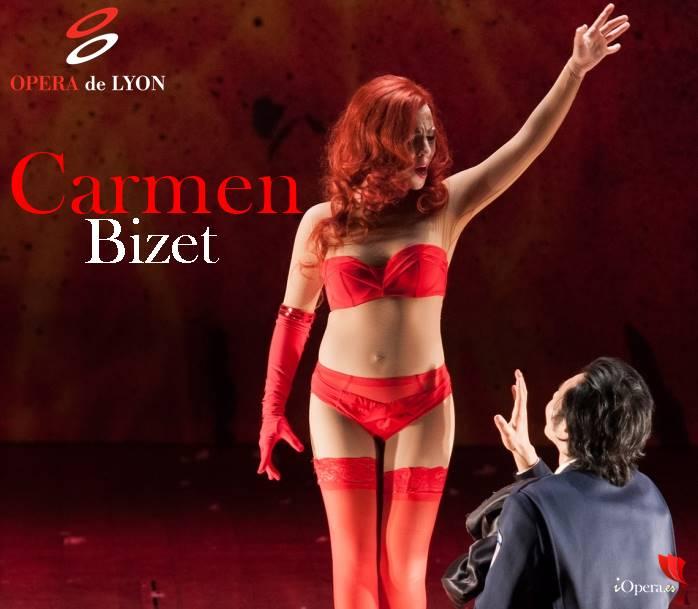 Carmen de Bizet en Lyon ópera