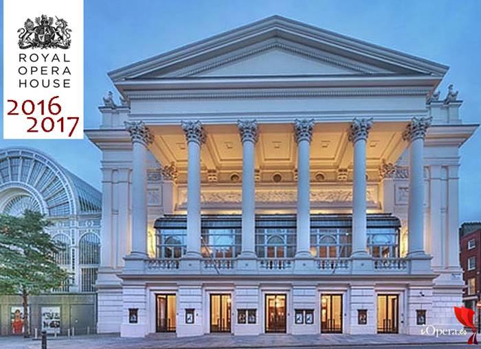 ROH Royal Opera House de Londres 2016 2017 programación de la nueva temporada