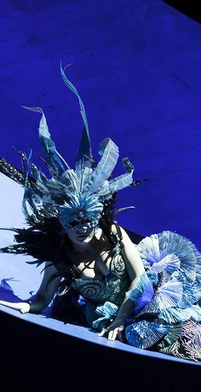 la donna serpente de Alfredo Casella desde el teatro Regio de Turín