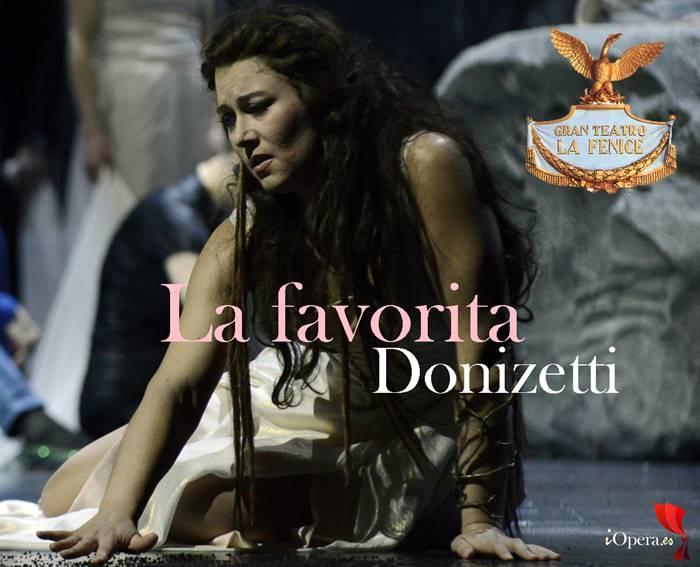 La favorita en Venecia en el Teatro la Fenice Gaetano donizetti