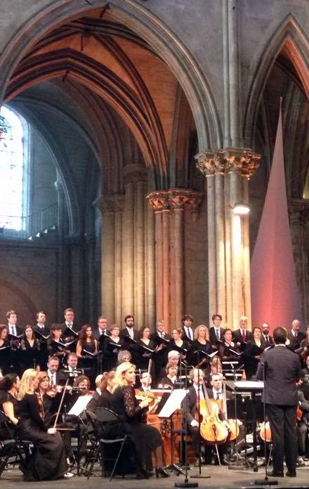 Requiem de Donizetti en saint-denis festival 2016 ensayos
