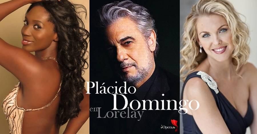 Plácido Domingo en Lorelay Angel Blue Micaela Oeste concierto