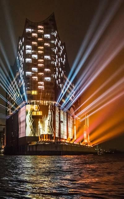 Concierto de inauguración de la Elbphilharmonie de Hamburgo elba, alemania iopera vídeo terfel concert