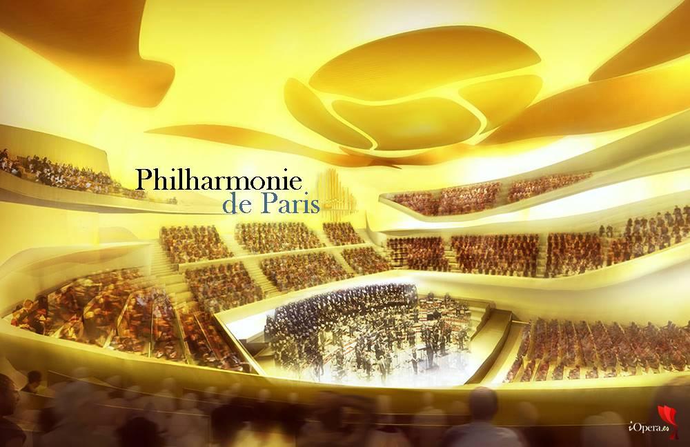Gala de apertura de la Philharmonie de Paris, vídeo