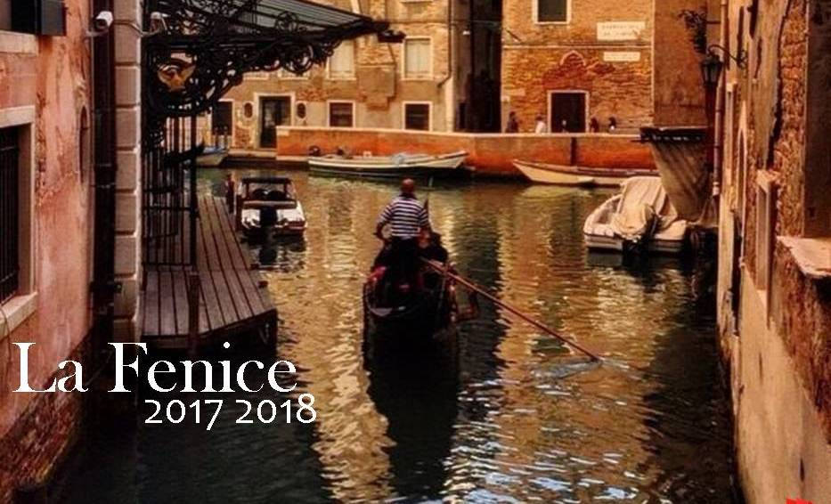 Teatro La Fenice de Venecia programación de la temporada de ópera 2017 2018