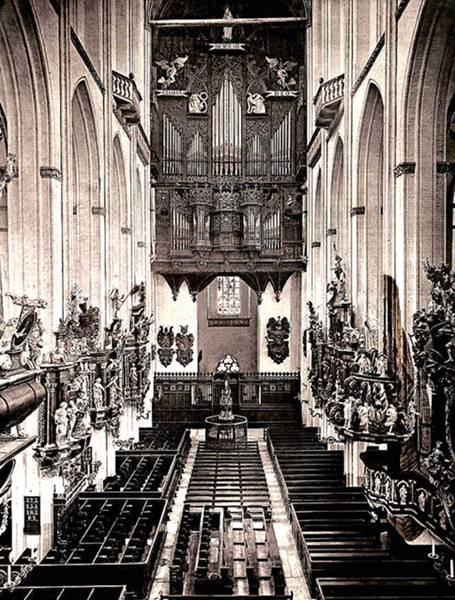 Abendmusik de Buxtehude por Ensemble Masques y Vox Luminis Marienkirche antes de su destrucción en 1942