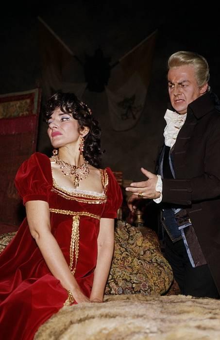 Tosca de 1964 con Maria Callas Tito Gobbi Londres