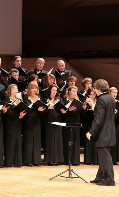 Carmina Burana y Canción del destino en Moscú Coro a capella Yurlov