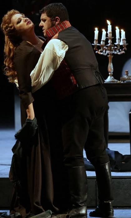 Andrea Chénier con Anna Netrebko en la Scala vídeo
