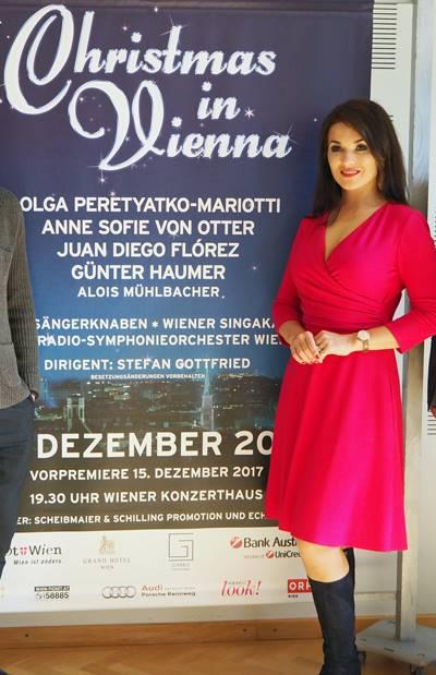 Navidad en Viena 2017 vídeo Olga Peretyatko