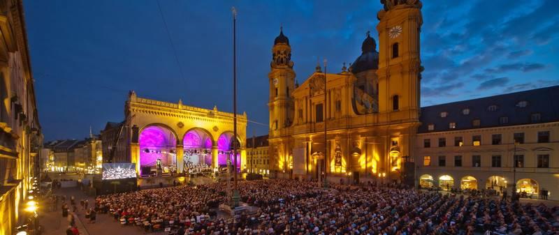 Concierto Juan Diego Flórez y Valery Gergiev en Munich Odeonsplatz