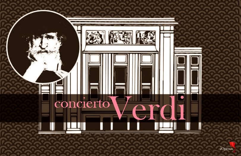 Concierto dedicado a Verdi en el Teatro de los Campos Elíseos