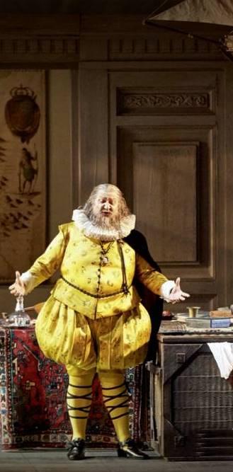 Falstaff de Verdi en Viena, desde la Wiener Staatsoper, vídeo de la ópera cómica de Giuseppe Verdi, protagonizada por Ambrogio Maestri, 30 de junio de 2018,
