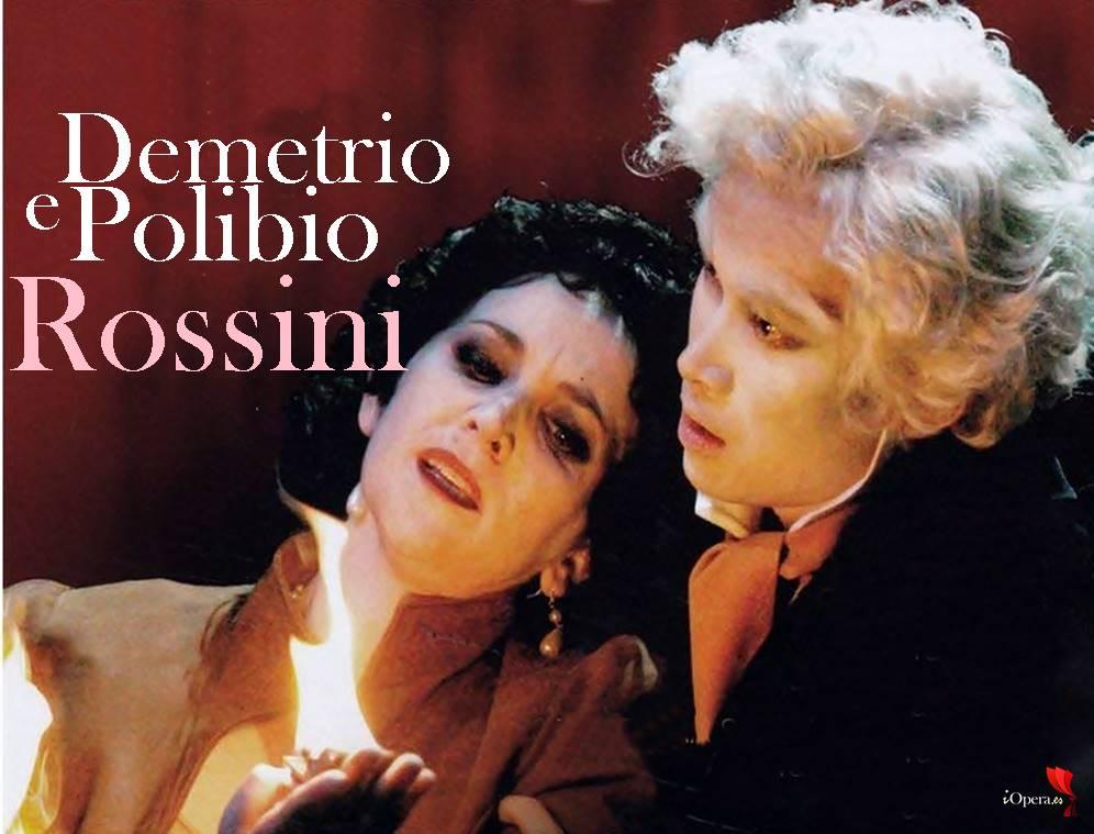 Demetrio e Polibio de Rossini en el ROF