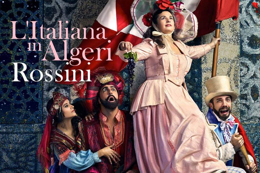 L'Italiana in Algeri de Rossini en Barcelona