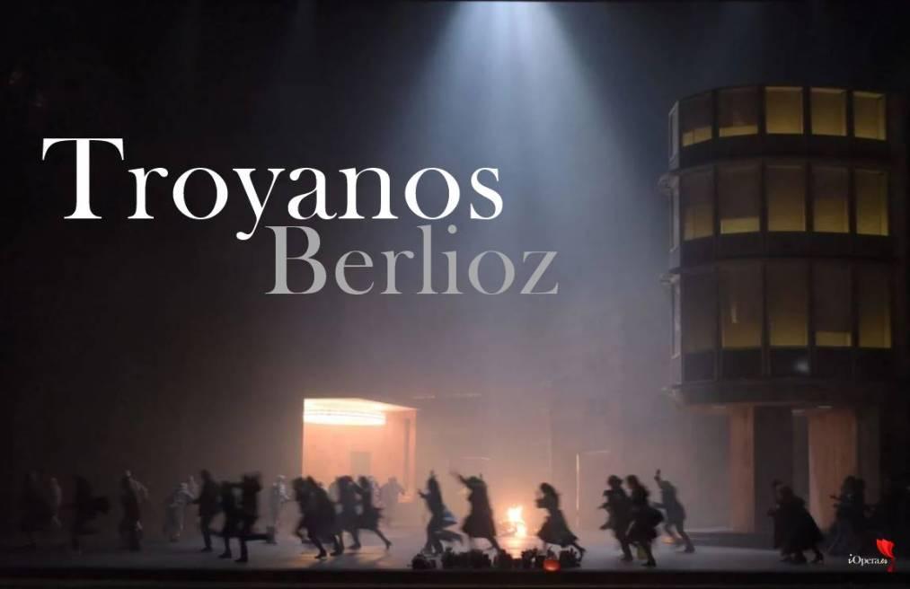 Les Troyens en París, desde el Teatro de la Bastille, Ópera de París, vídeo de la ópera de Héctor Berlioz