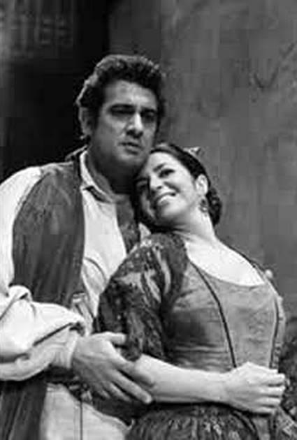Carmen desde París 1980 Berganza y Domingo