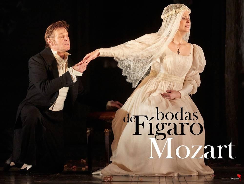 Bodas de Fígaro en Londres 2019, desde la Royal Opera House de Londres, vídeo de Le nozze di Figaro de Wolfgang Amadeus Mozart, dirigida por John Eliot Gardiner y protagonizada por Simon Keenlyside