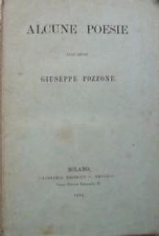 Alcune Poesie Giuseppe Pozzone, docente Brera