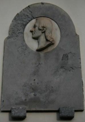 Cenotaffio all'abate in Appiano Gentile Giuseppe Pozzone