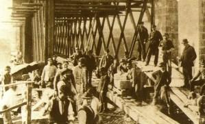 Maestranze al ponte San Michele di Paderno d'Adda (1888)ricerca genealogica