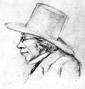 Kierkegaard ritratto impietosamente nel 1854