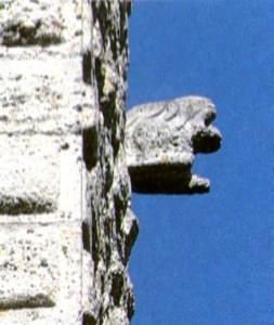 castello Trezzo, origine del nome Trezzo, toponimi Lombardia, Archeologia medievale a Trezzo Il doccione della torre trezzese: forse leone, cinghiale forse