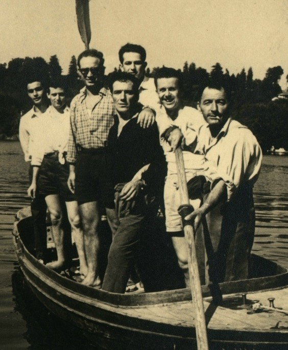 Adda navigabile: 1956, a remi fino in laguna