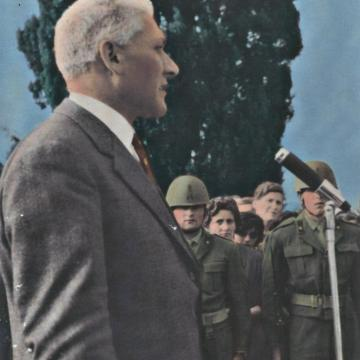 Umberto Villa e Luciano Bassani, sindaci trezzesi