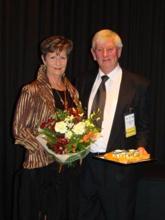 Erin & Trevor TAMBLYN<br> Recipients IOQNZ Award