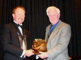 Roger Mahan - 2009 Lyn Jordan Trophy Winner