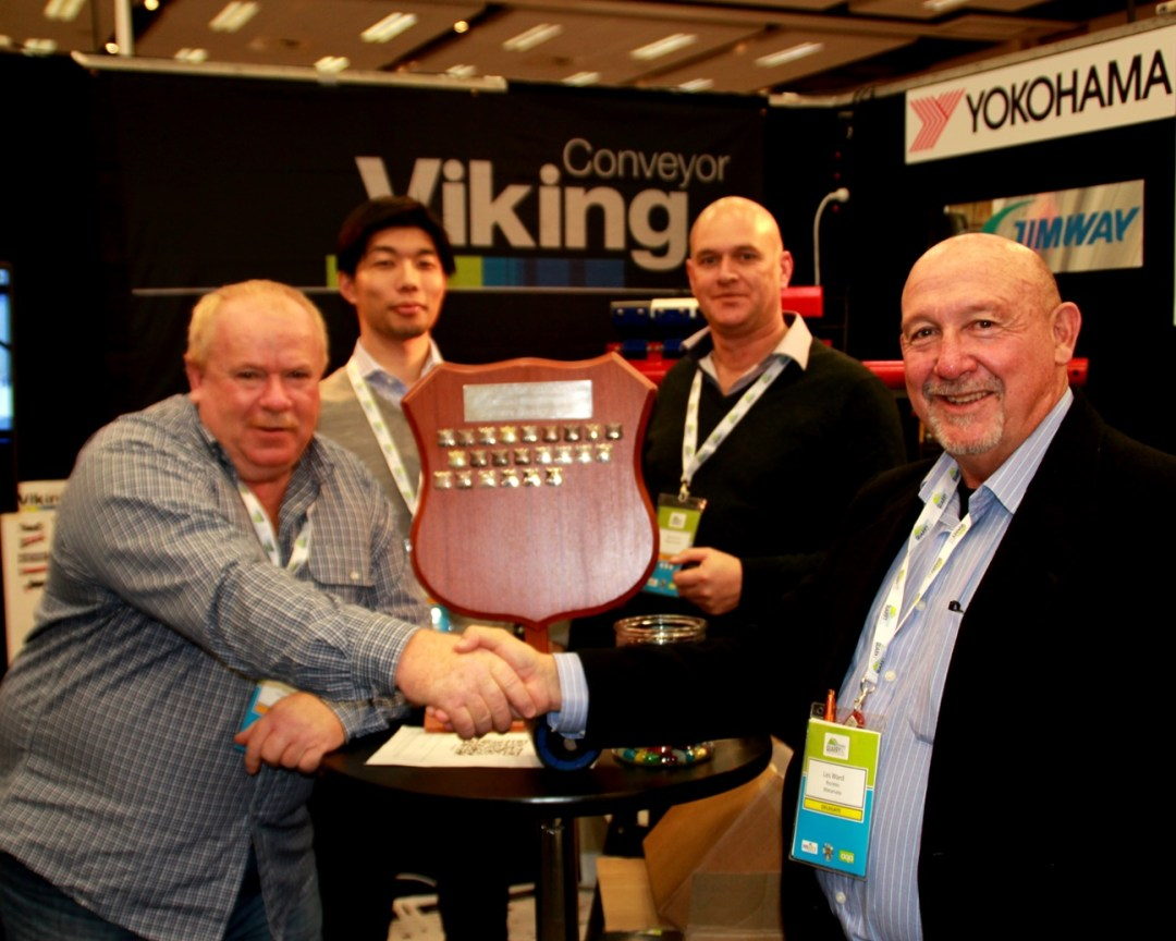 VIKING CONVEYOR- 2016 recipient of AJ&RJ Loader Sponsor's Award