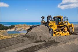 C&R Developments CAT D11T at Taharoa (photo courtesy C&R Website)