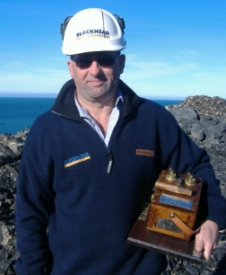 Gavin Hartley - 2010 Rocktec Award Winner