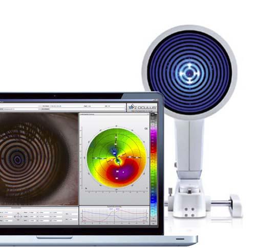Keratograph. Instalaciones y equipación para los problemas oculares del Instituto Oftalmológico Recoletas.