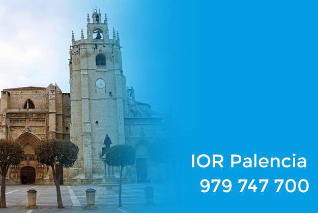 IOR Palencia. Datos de contacto del Instituto Oftalmológico Recoletas Avenida Castilla en Palencia
